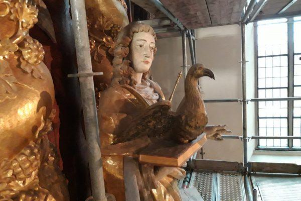 Abteikirche und Johanneschor, Dezember 2020, Sabine Robrecht