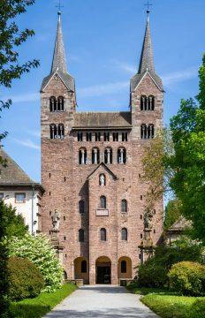 Corvey, Fassade karolingisches Westwerk