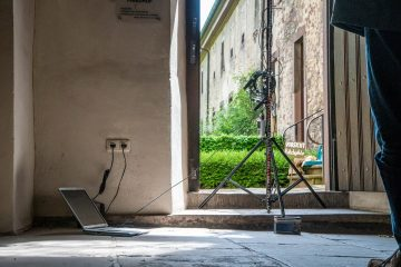Luftstrommessung, Foto: Klaus Löther