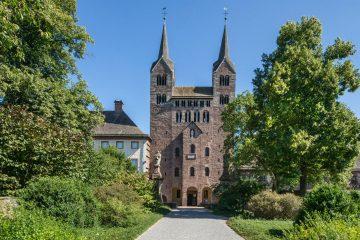 Welterbe Westwerk Corvey · Westfassade des karolingischen Westwerks